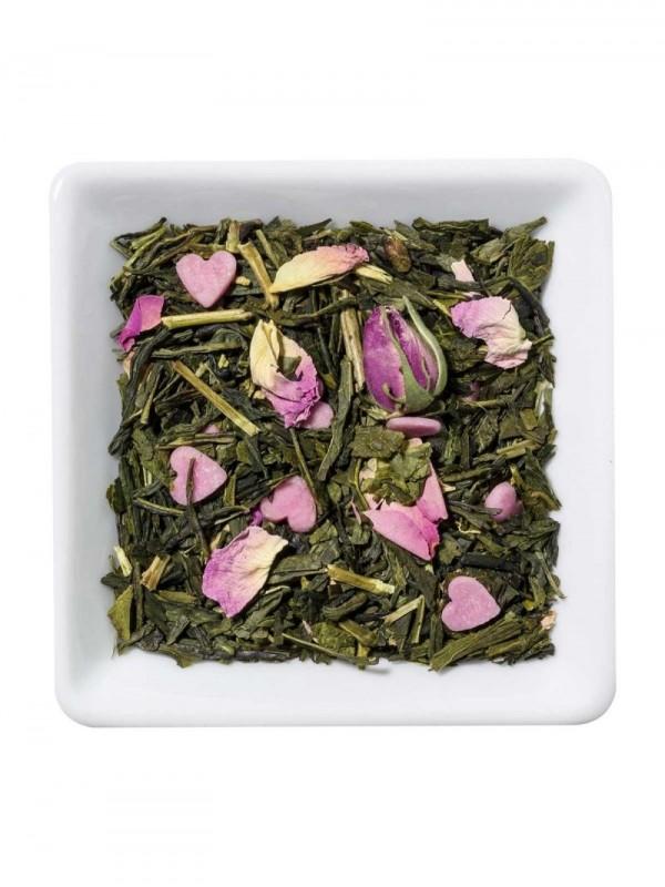 Lovely- Chá verde aromatizado