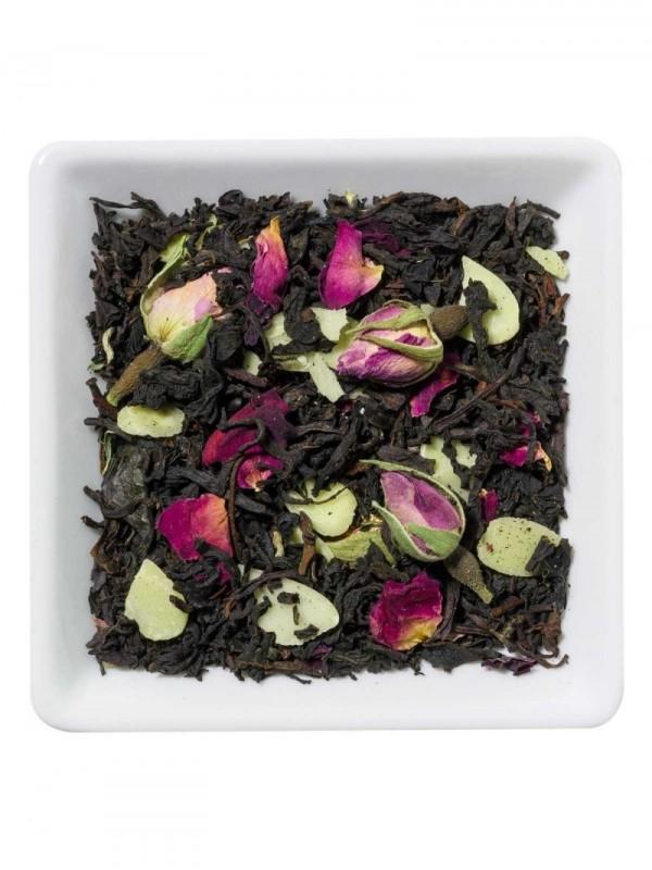 Rose Marzipan - Chá preto...